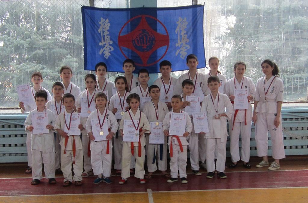 Открытый турнир г. о. Нальчик по Киокусинкай каратэ.