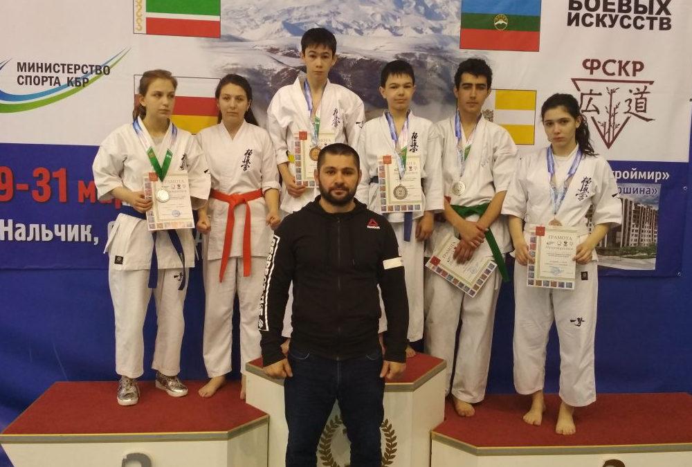 Первенство Кабардино-Балкарской республики по Всестилевому каратэ 2018