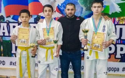 Открытый республиканский турнир среди детей, юношей по Киокусинкай каратэ