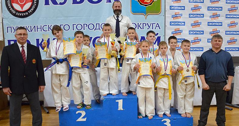 Кубок Пушкинского городского округа по Киокусинкай