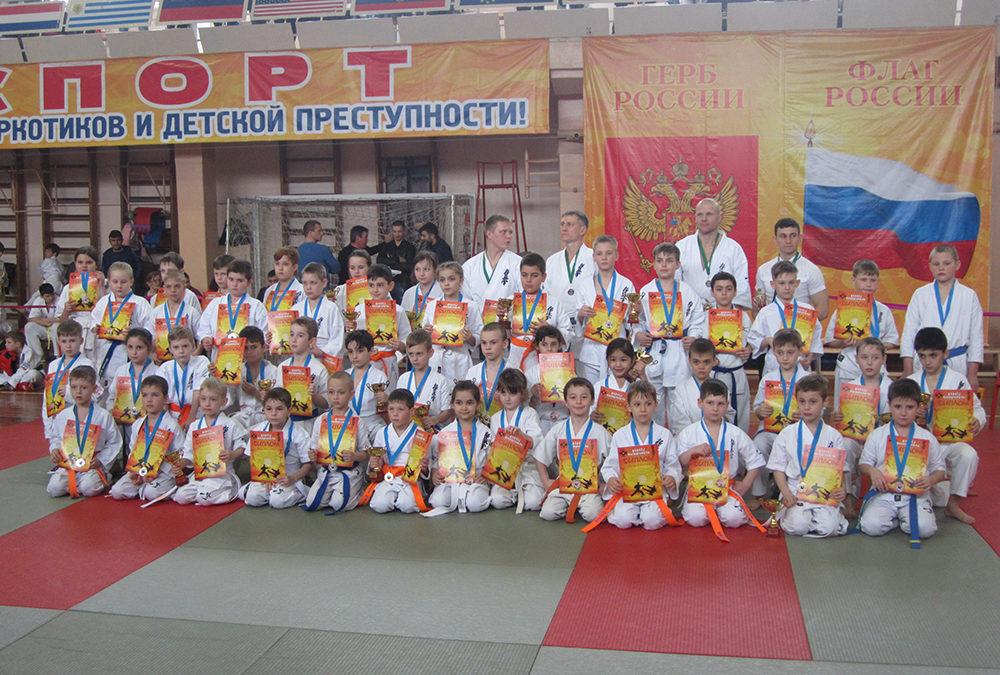 Открытое первенство Ставропольского края по Киокусинкай каратэ