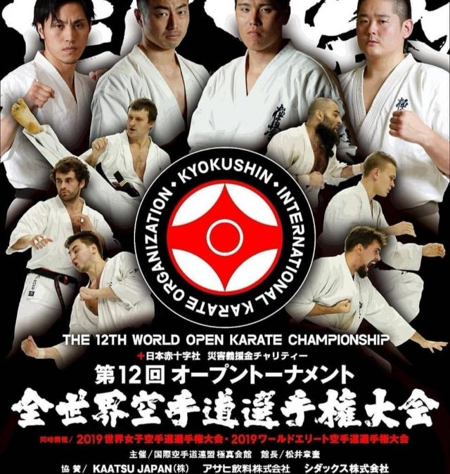 The 12th World Open Karate Tournament 2019 Kyokushinkai karate